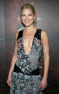 Ali Larter at a movie premiere
