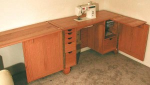 The Elusive Solid Wood Sewing Cabinet