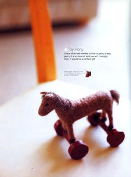 From book: Fuzzy Felted Friends, by Saori Yamazaki