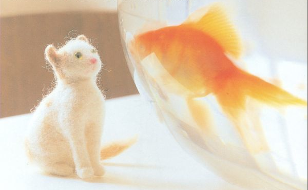 from book: Felted Little Animals, by Marie-Noelle Horvath