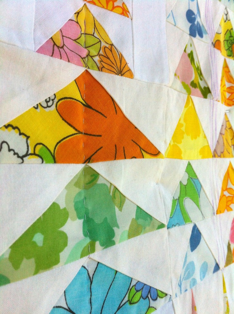 Flying Geese in the Forest Quilt