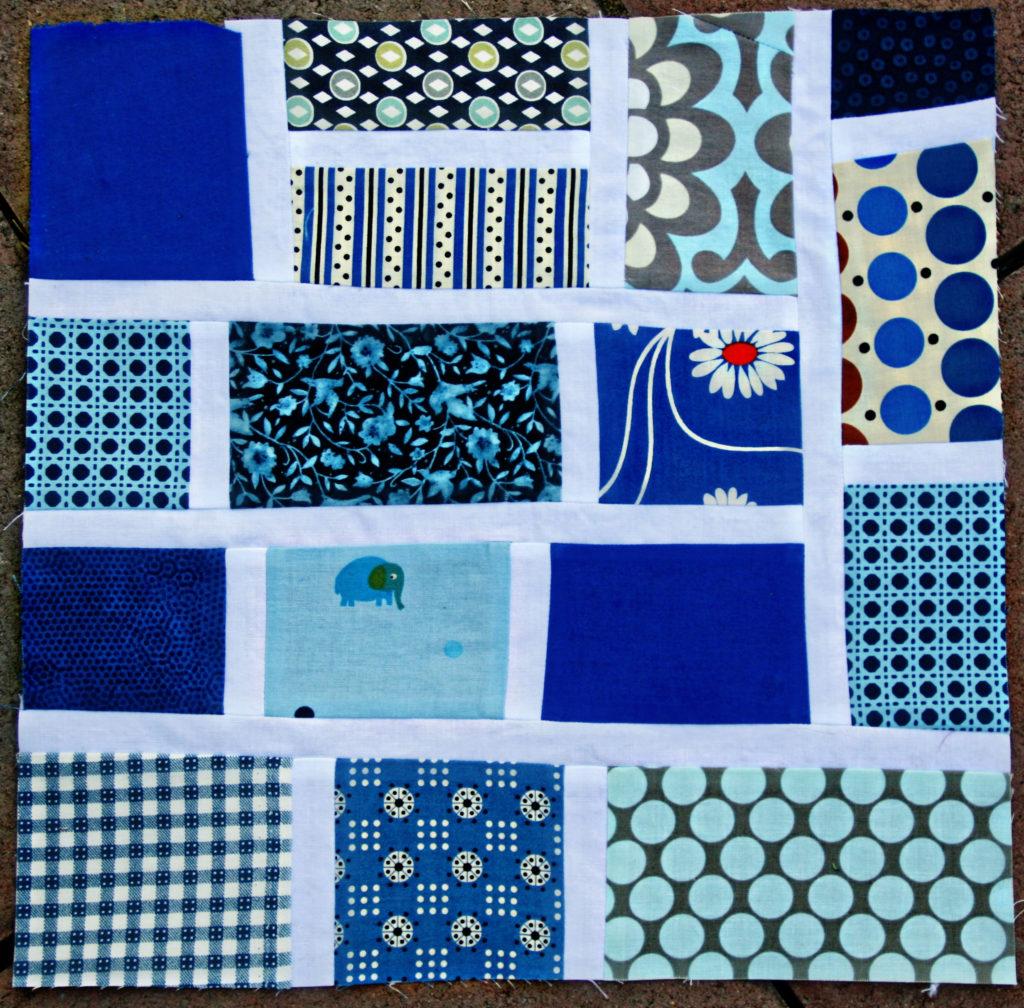 Mod Mosaic quilt block