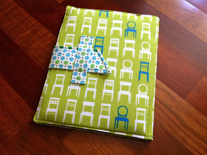 fabric ipad cover, diy, sew