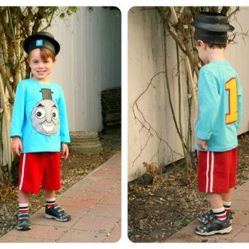Easy-peasy Thomas the Train Costume (Applique Tutorial)