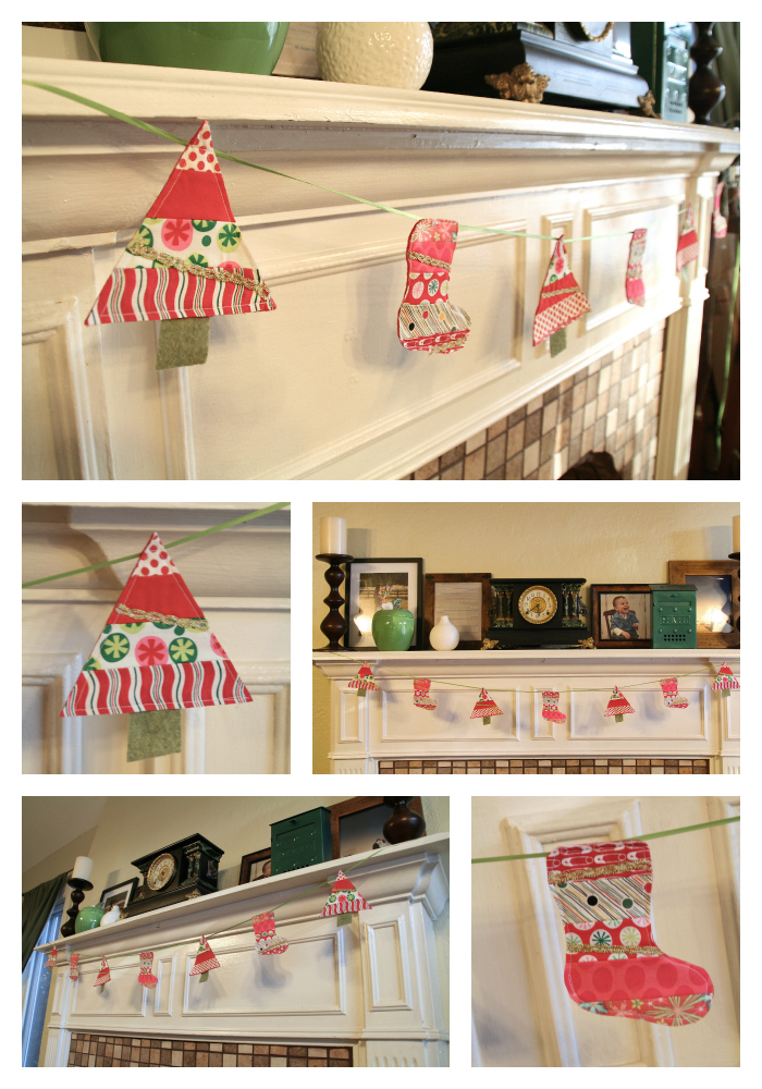 Let S Get Acquainted Blog Hop Christmas Bunting Tutorial