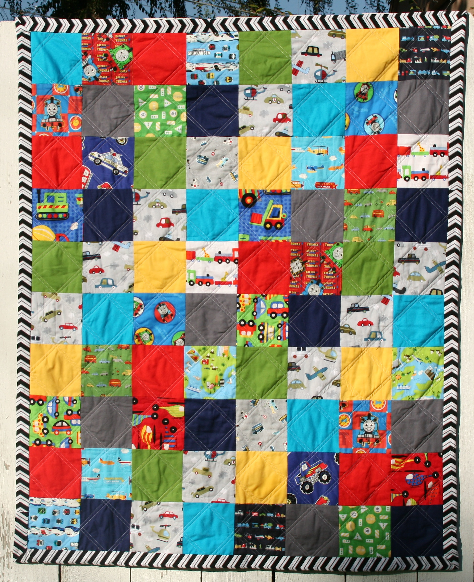 Transportation Quilt : transportation quilt - Adamdwight.com