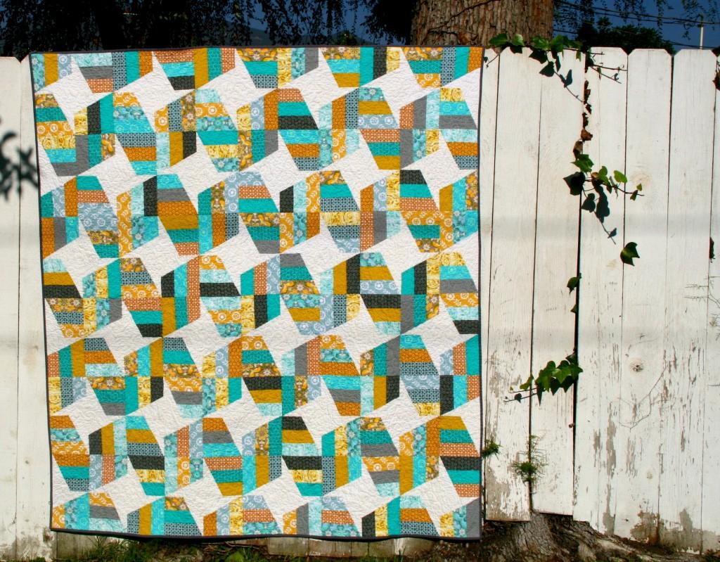 Jaybird quilts unwind quilt