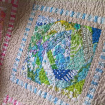 Vintage Bed Sheet Quilt
