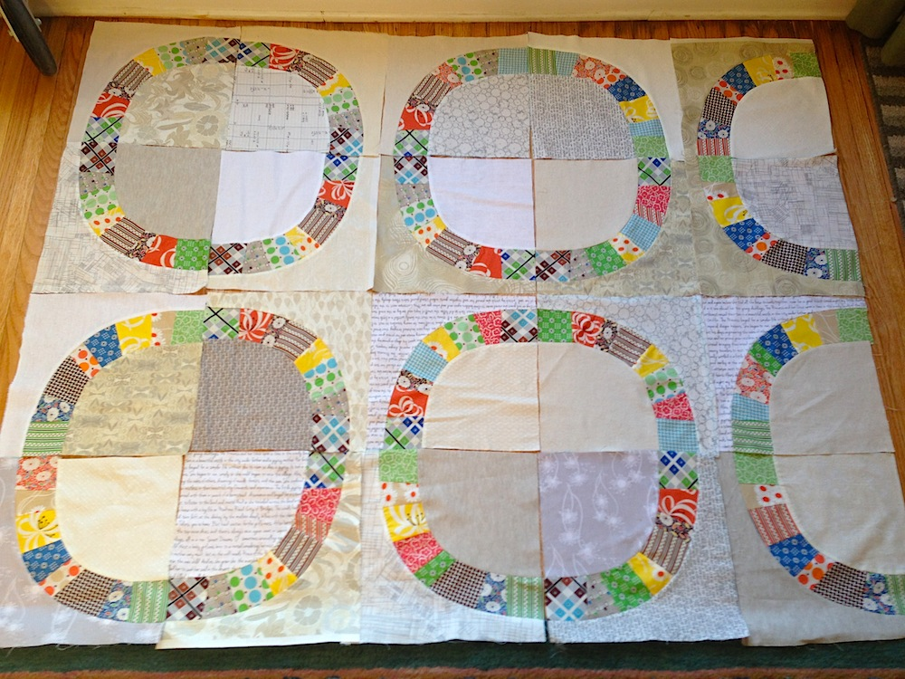 Low Volume Single Girl Quilt, Denyse Schmidt