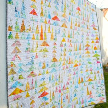 Finished: Geese in the Forest Quilt