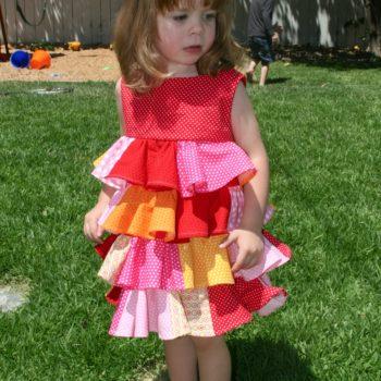 Bouncy Flouncy Birthday Dress