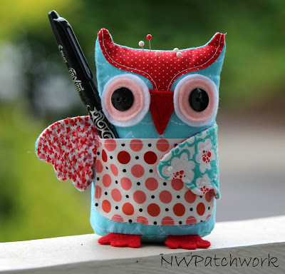 How Adorable Is This Owl Pincushion Made By Jackie At Nw Patchwork A Great Gift Idea For Anyone Who Loves To Sew