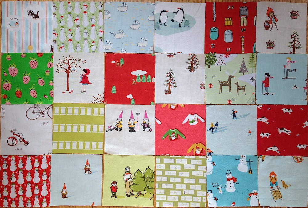 The Countdown To Christmas Quilt Along Week 1