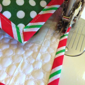 Countdown to Christmas Quilt-Along: Binding