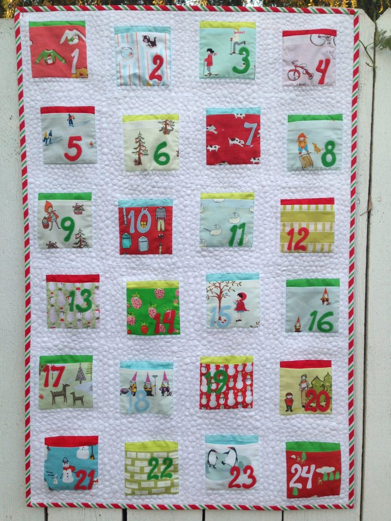Countdown to Christmas Quilt Along: Better Off Thread