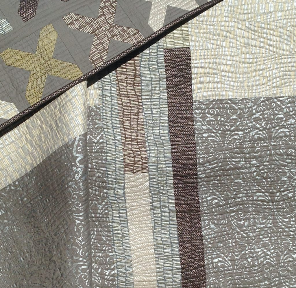 Shimmer X Quilt from Better Off Thread