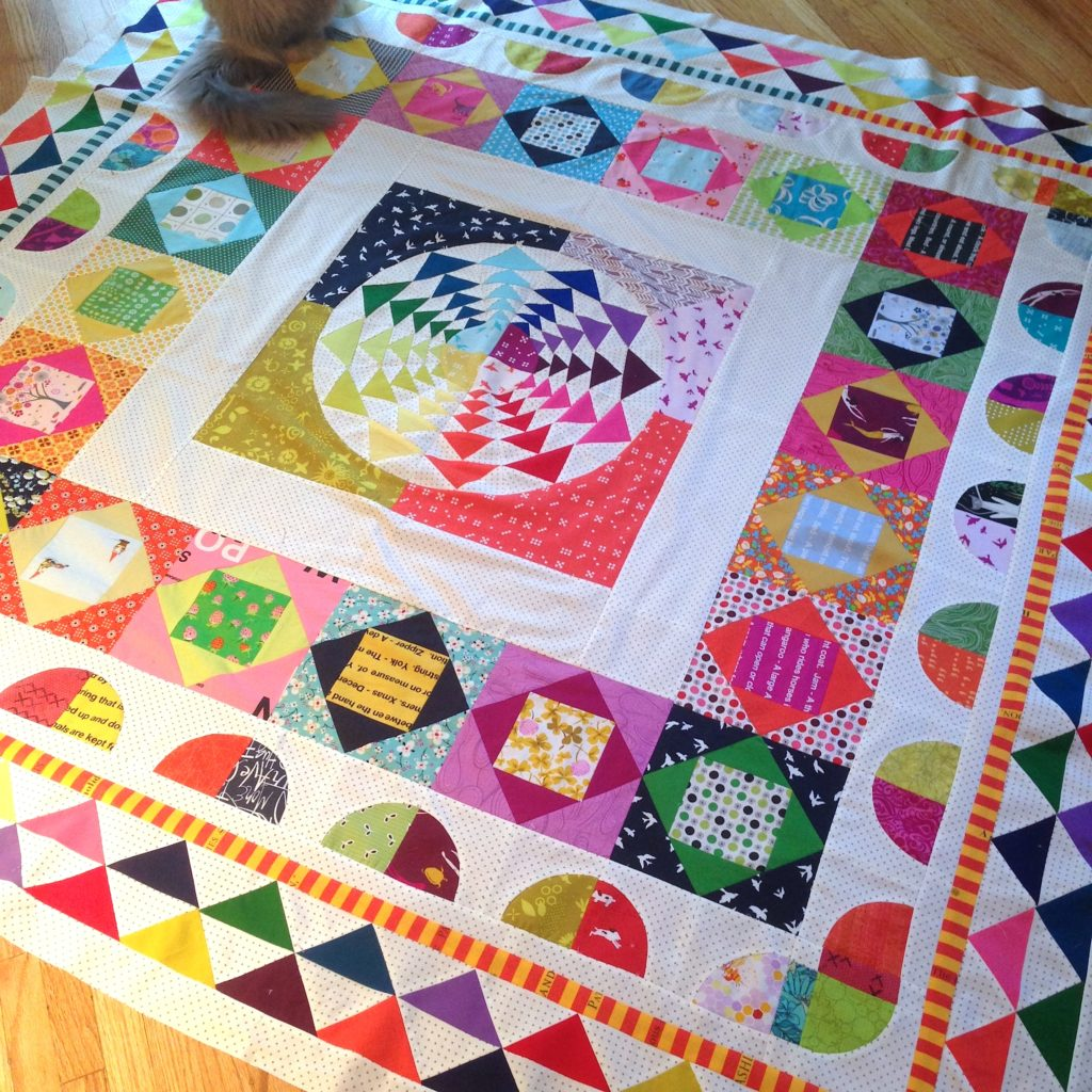 Right Round Medallion Quilt by Better Off Thread