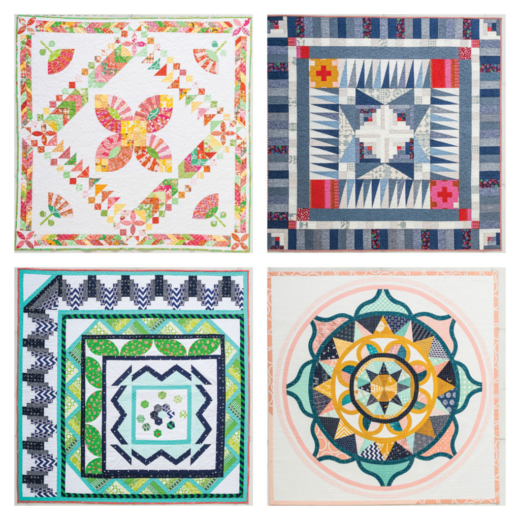 Quilts from the Modern Medallion Workbook