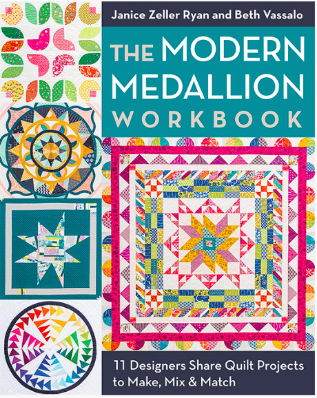 The Modern Medallion Workbook by Janice Zeller Ryan and Beth Vassalo