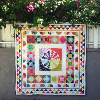 Right Round Medallion Quilt Finish