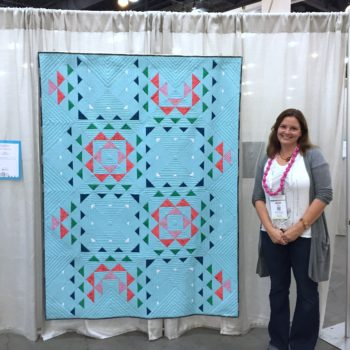 Quiltcon Magazine: The Ripple Effect Quilt