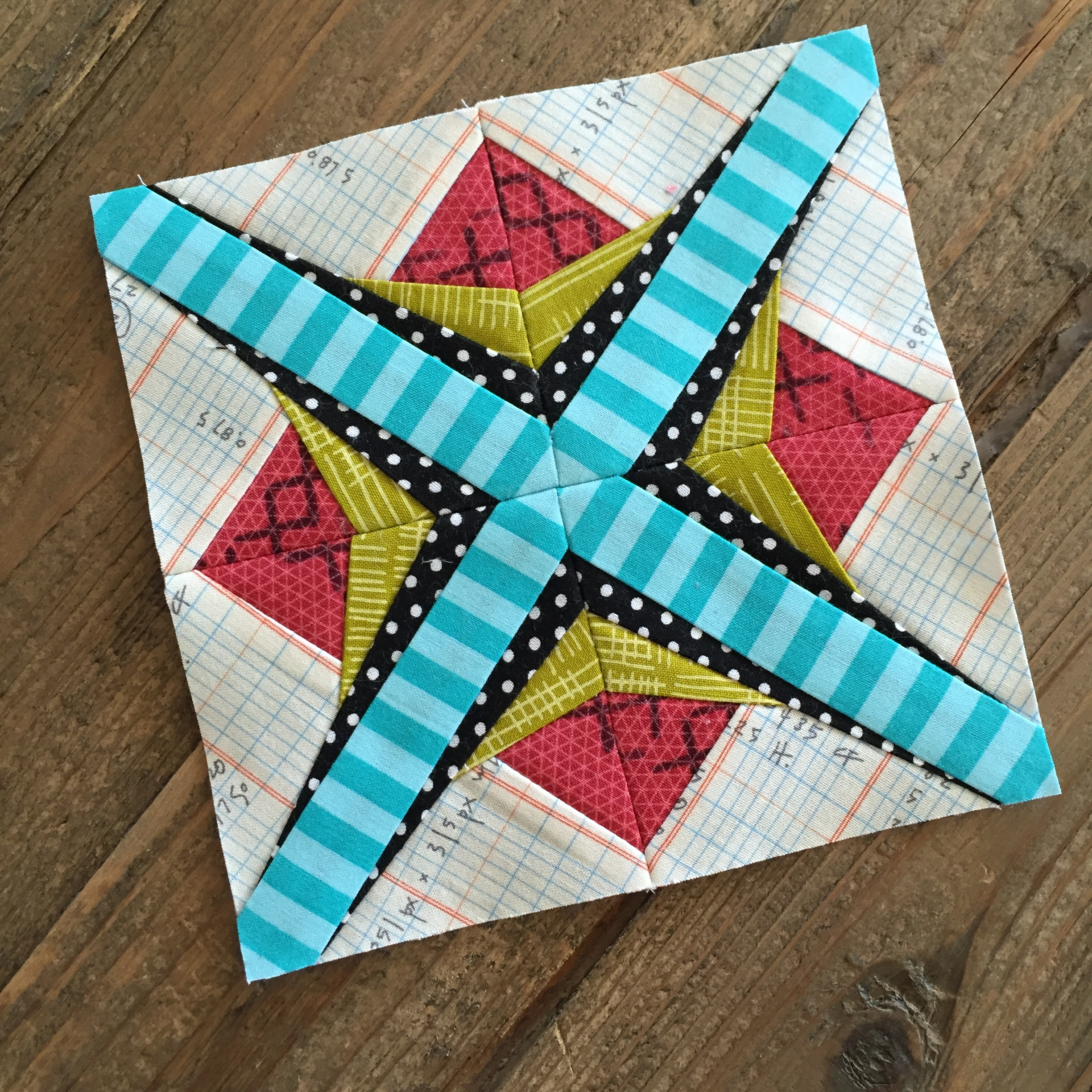 The Splendid Sampler, A Family Affair Block by Better Off Thread