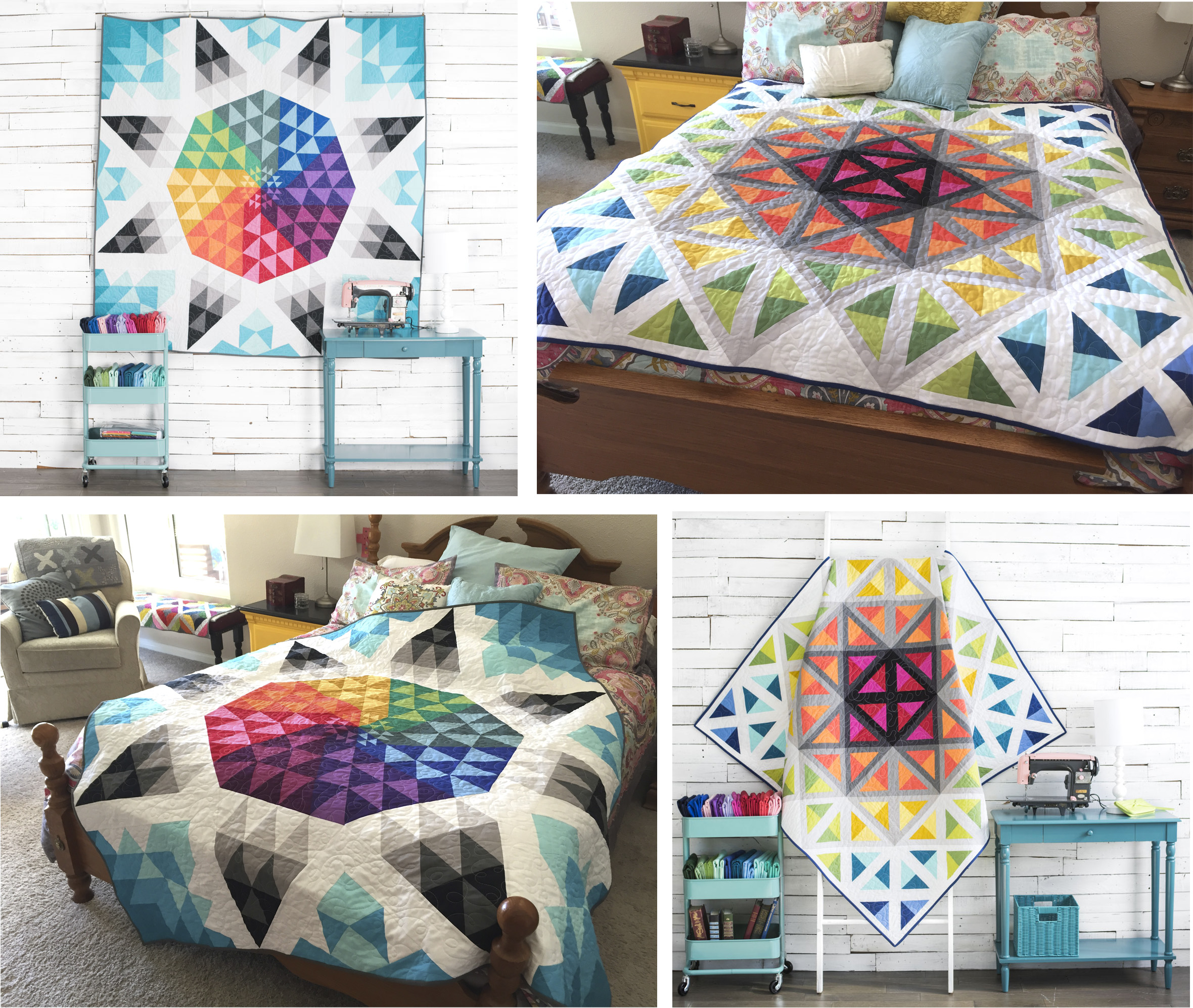 Boundless Quilt Kit by Better Off Thread